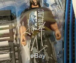 Tna Impact Wrestling Jeff Et Matt Hardy Deluxe 2-pack Autographié Par Matt