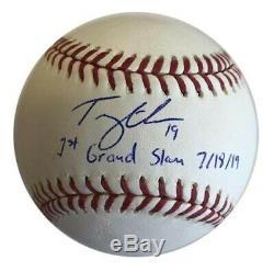 Tommy Edman'1st Grand Slam Cardinals Signe Autograph Auto Rawlings __gvirt_np_nn_nnps<__ Ball Romlb