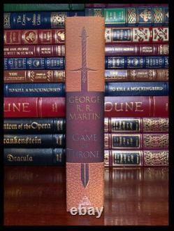 Un Jeu De Trônes Signé Par George R. R. Martin Nouvel Anniversaire Deluxe Hardback