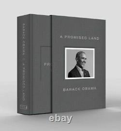Une Terre Promise Par Le Président Barack Obama Signé Autographié Édition Deluxe