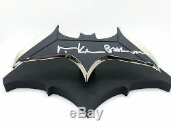 Val Kilmer Signé Batman Datarang Deluxe 1 Échelle Replica Autograph Bas Coa