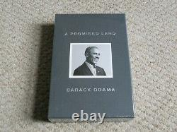 Vente! New Deluxe Ed Slipcase Hb'a Promised Land' Signé Par Pres. Barack Obama