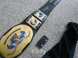Wwe Championship Ultra Deluxe Intercontinental Ceinture 2006 Signé Par Rob Van Dam