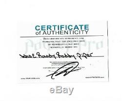 Wwe Deluxe Classique Roddy Piper Signée À La Main Autographié Figurine Avec Coa