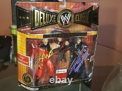 Wwe Deluxe Superstars Classiques Frères De Destruction Kane & Undertaker Signé