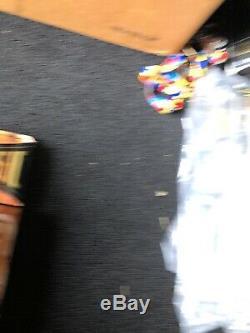 Wwe Wwf Classique Superstars Deluxe Ric Flair Signé Figure Lutte Auto