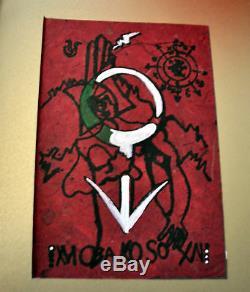 XVI Deluxe Scarlet Impression Magick Grimoire Occulte # 9/44 Signé Avec Talisman Rare